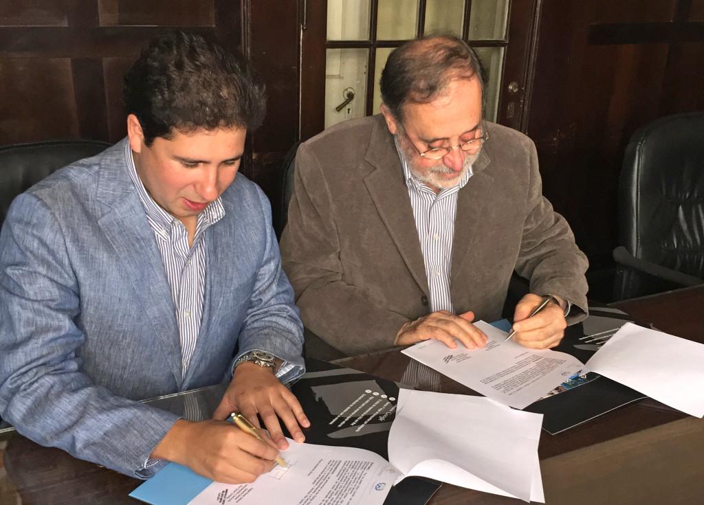 Rodrigo Rozas y Rafael Reyes General